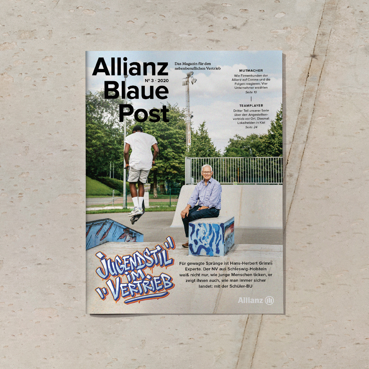 "Magazine ""Allianz Blaue Post"""