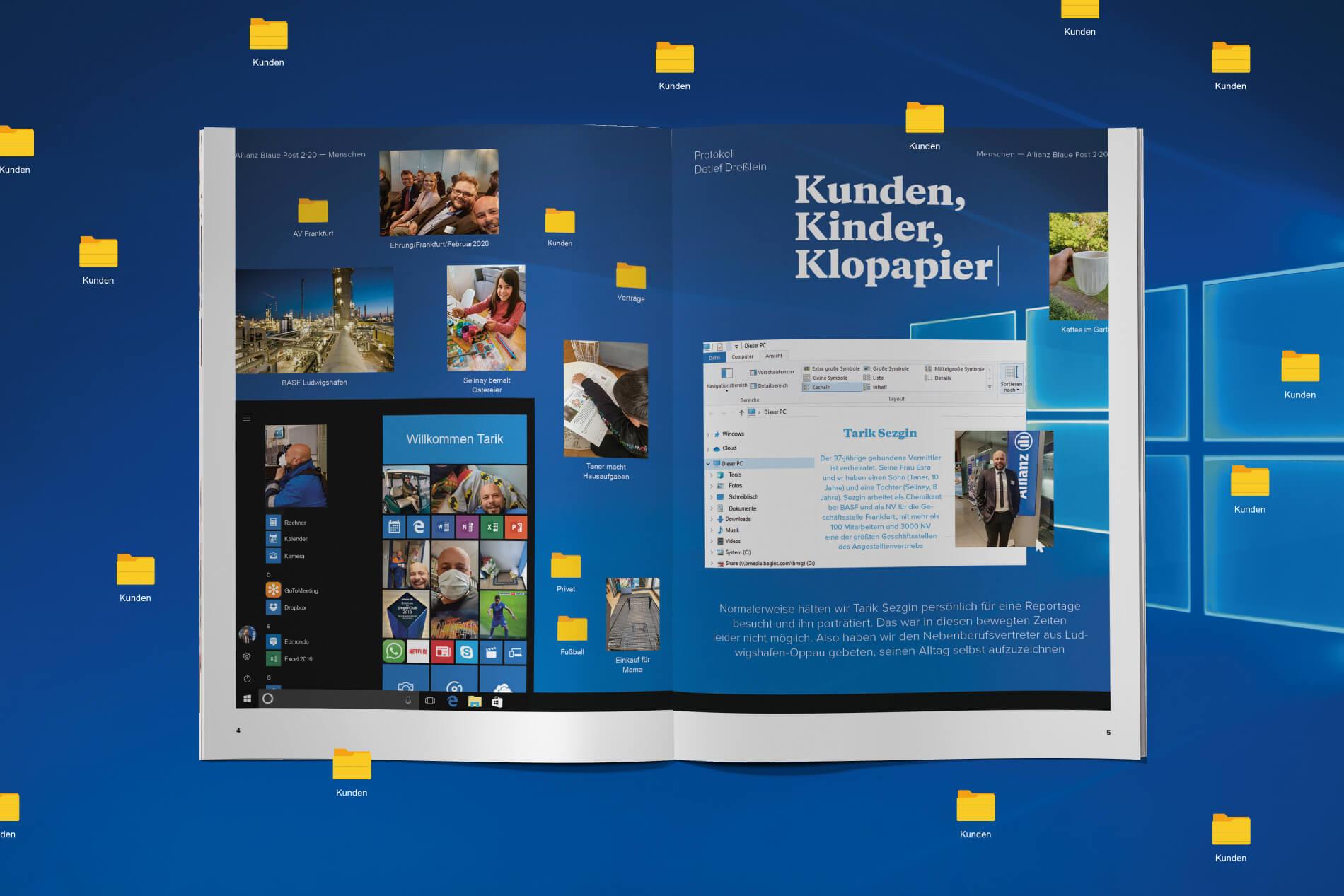 Allianz-BlauePost-HomeOffice-Reportage