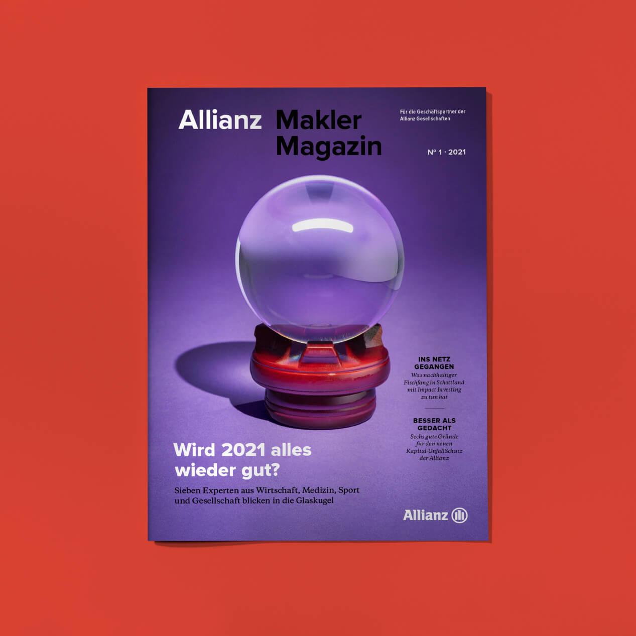 "Magazin ""Allianz Makler Magazin"""