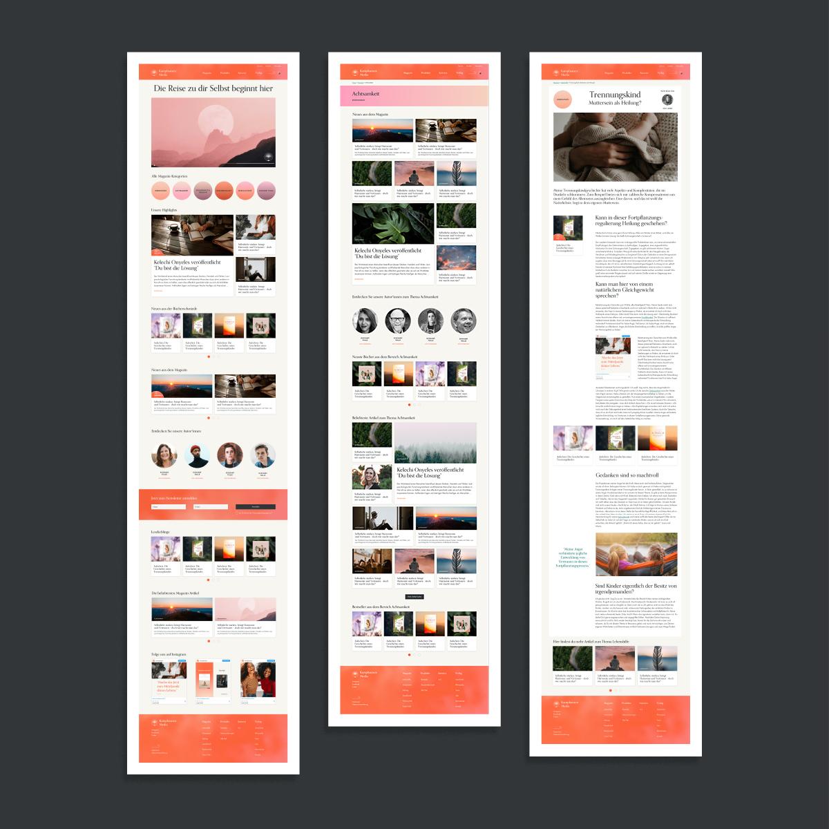 Kamphausen-Website